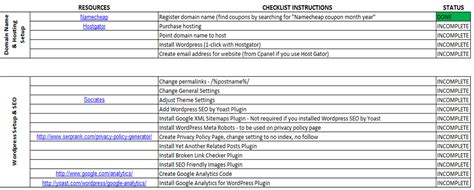 How To Complete A Spreadsheet by How To Create A Checklist In Excel 2013 How To Make A