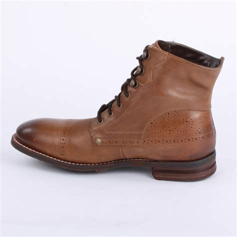 ankle boot mens caterpillar murray mens ankle boots in brown