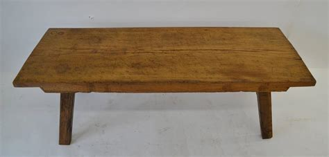 Block Coffee Table Oak Butcher S Block Coffee Table At 1stdibs