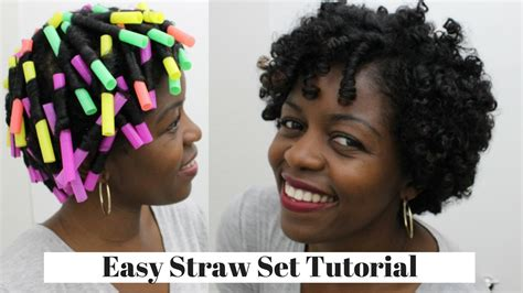 pics of strawsets hair styles on 4c hair straw set curls natural hair 3c 4a misst1806 youtube