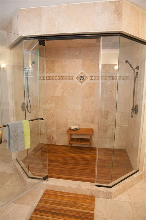 Wooden Shower Doors Teak Wood Shower Bench With Shower And Glass Door And Wooden Flooring Furniture Wood Bench