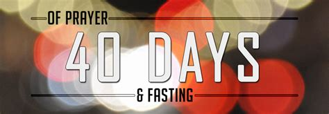 day of fasting the rock church temecula valley 40 days of prayer fasting
