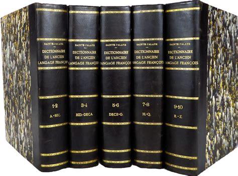 1361842172 dictionnaire historique de l ancien langage dictionnaire historique de l ancien langage fran 231 ois le