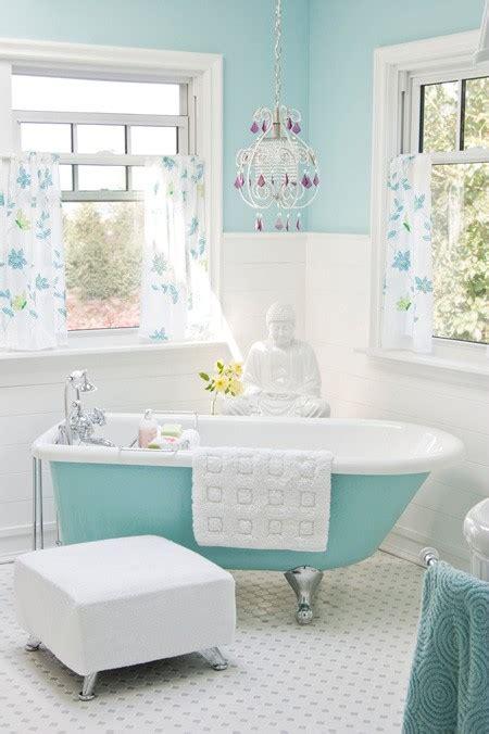 powder blue bathroom free house interior design ideas