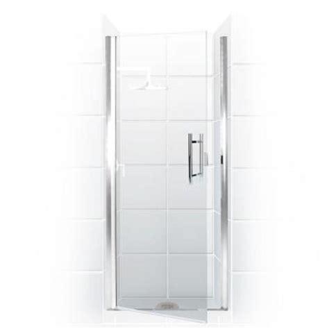 Coastal Shower Doors Paragon Series 31 In X 74 In Semi Home Depot Frameless Shower Doors
