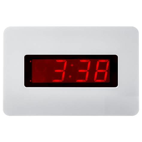 large electric wall clock
