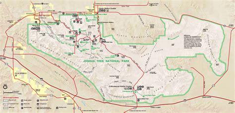 california map joshua tree the tonal landscape joshua tree national park