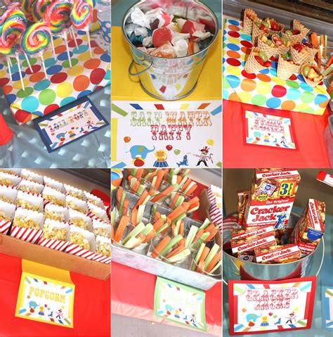 carnival birthday party birthday party ideas