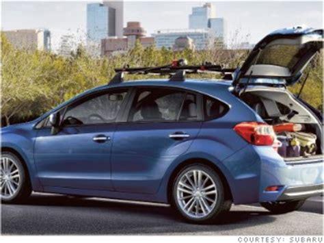 small subaru hatchback subaru impreza hatchback 8 small cars cargo space vs