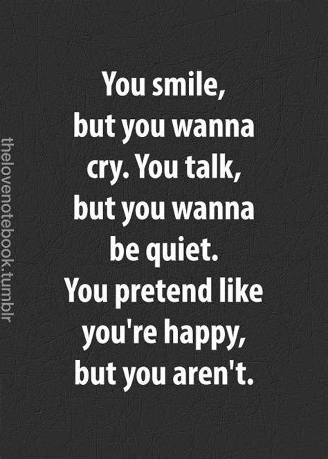 fake smile quotes ideas  pinterest depressed