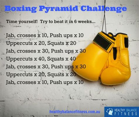 improve your fitness with this boxing workout plan