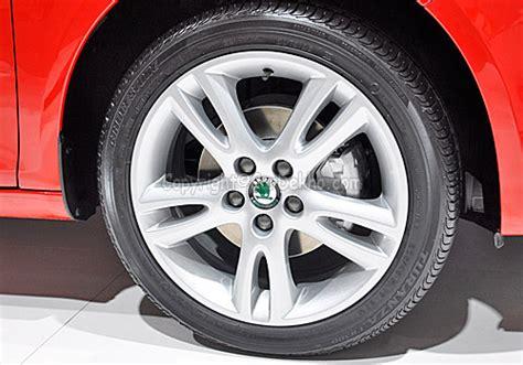 skoda fabia steel wheels skoda fabia price in india review pics specs mileage
