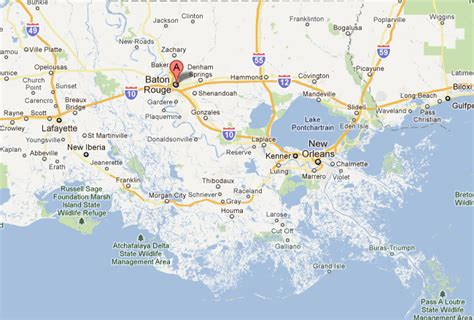 louisiana map baton baton la pictures posters news and on