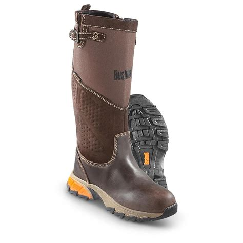 browning boots s bushnell 174 snakepro waterproof boots brown 593005