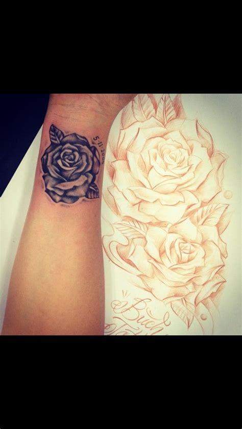 small numbers  rose tattoo tattoomagz tattoo
