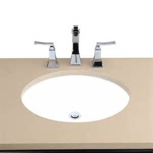 lowes undermount bathroom sink cantrio koncepts ps 104 undermount ceramic sink lowe s