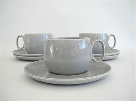 modern coffee cups gray coffee cup set of 3 saucers grey tea cups cavitt shaw