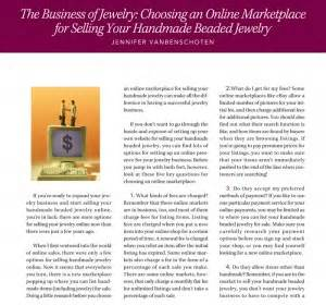 How To Make Money Selling Handmade Jewelry - how to sell jewelry improve your jewelry business