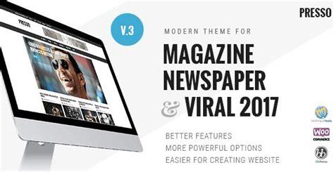 newspaper theme crack presso modern magazine newspaper viral theme 3 0 1