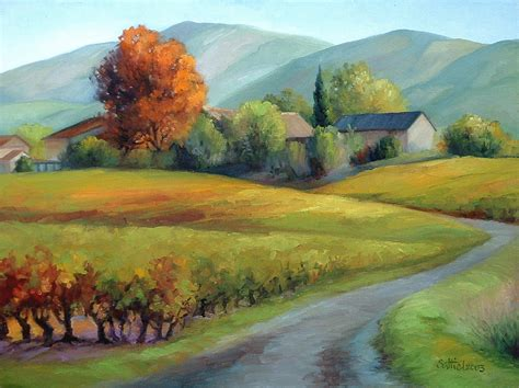 French Country Homes Pictures - art by saltiel french countryside