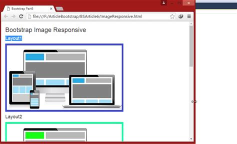 responsive layout bootstrap 3 tutorial bootstrap for beginners part six bootstrap images