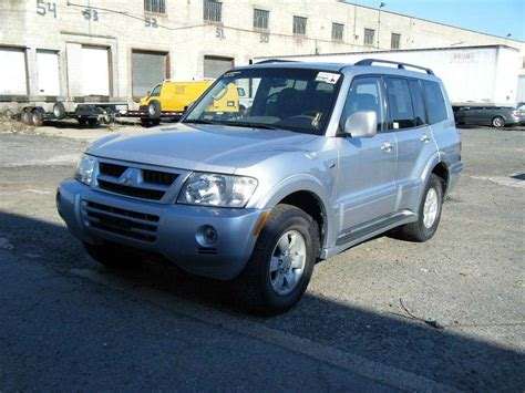 2004 mitsubishi montero for sale 3800cc gasoline