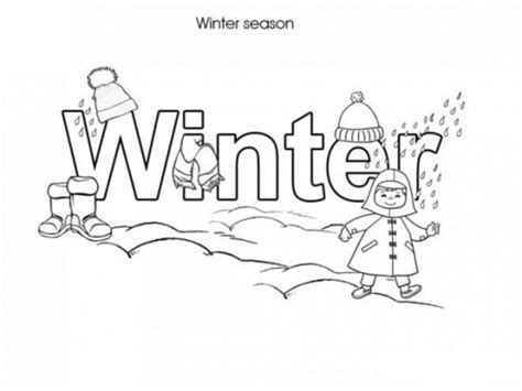 winter coloring pages free printable printable coloring page