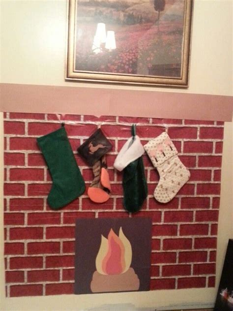 hooks for stockings on brick 17 best images about door ideas on elementary the and cubicles
