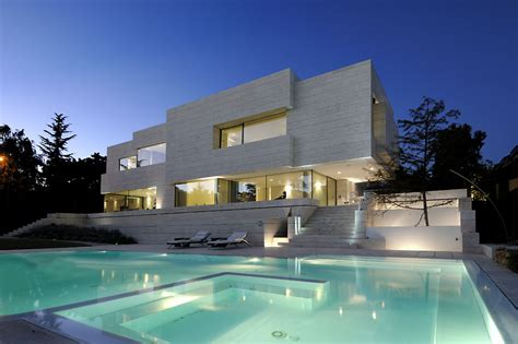 cool house cool house in las rozas design by a cero architects latest