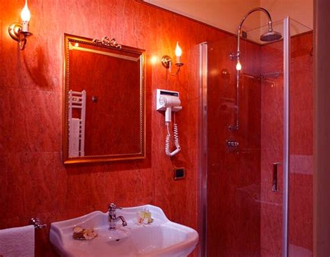 stunningly hot red bathroom designs home design lover