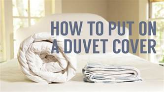 Whats A Duvet How To Put On A Duvet Cover In Seconds Youtube