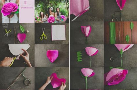 How To Make Handmade Paper Flowers Step By Step - how to make your own handmade wedding flower step by step