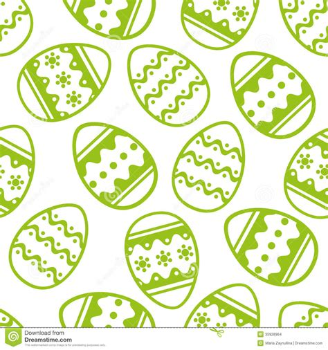 easter pattern vector easter pattern stock images image 35928964