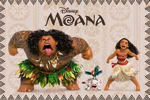 Disney Wall Murals For Kids moana and maui moana poster buy online