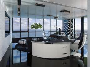 contemporary home office home office living room modern home office miami