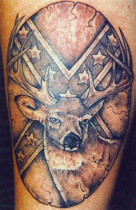 cool hunting tattoos cool deer design creativefan