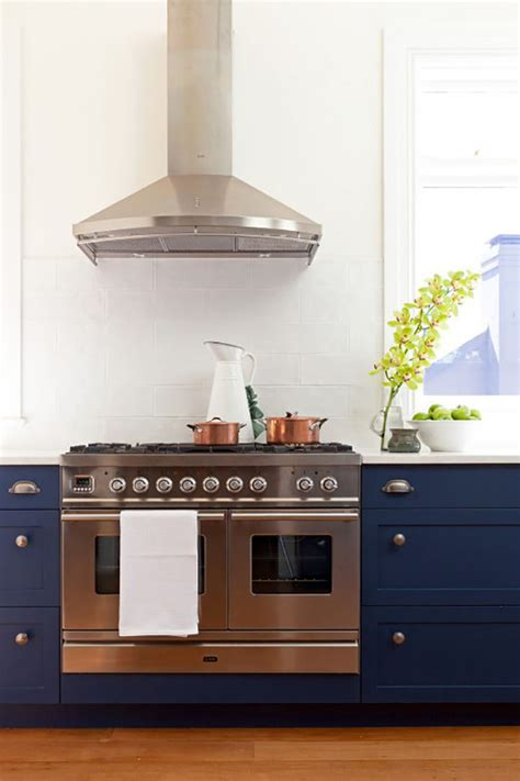 Navy Blue Kitchen by Decorating With Navy Blue By Duran The Oak Furniture Land