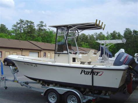 21 parker boat taco fishing boat outriggers