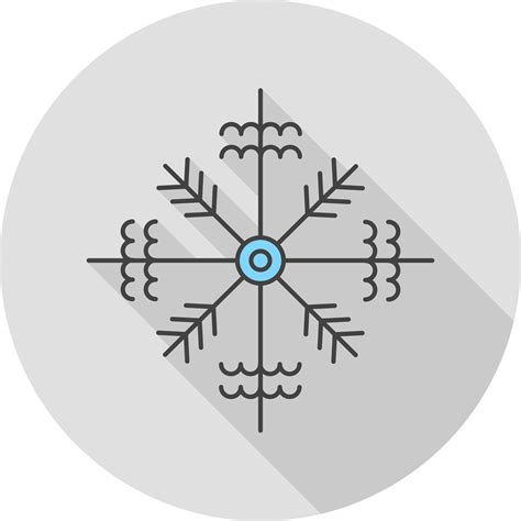 vector snow flake icon   vectors clipart graphics vector art