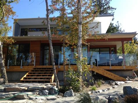 lindal cedar homes modern exterior calgary by