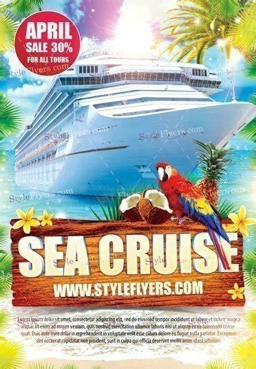 Sea Cruise Psd Flyer Template 18514 Styleflyers Cruise Flyer Template Free