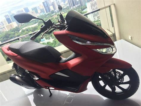 Pcx 2018 Merah Modifikasi by Honda Pcx 2018 Merah 187 Bmspeed7
