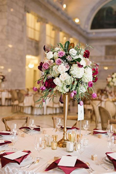 an fall hued wedding in salt lake city wedding flower decor wedding centerpieces