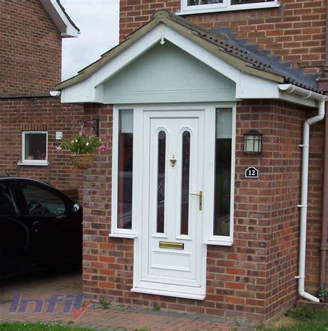 Front Door Porch Infil Glazing Halstead Essex Porches Canopies