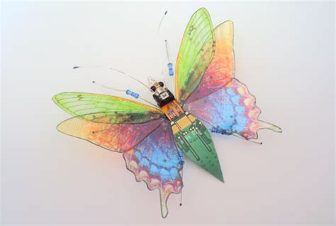 colorful bugs artist makes colorful bugs out of recycled computer parts