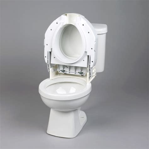 heavy duty elevated toilet seat secure bolt hinged elevated toilet seat heavy duty