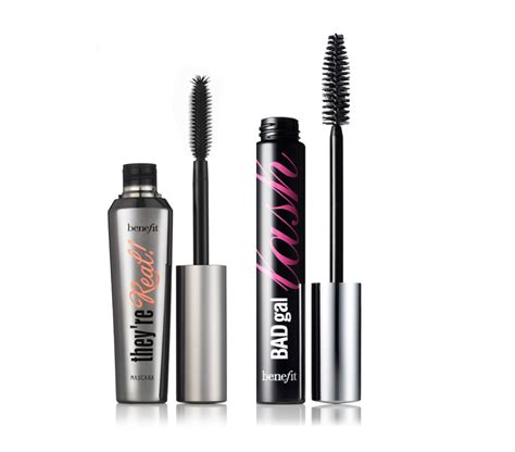 Benefit Mascara They Real Sle Size they re real and badgal lash mascara from benefit