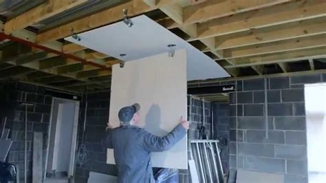 How To Fit A Plaster Ceiling by How To Fit Plasterboard To An Existing Ceiling