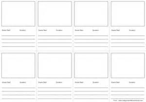Storyboard Outline Template by How To Create A Storyboard For With Template