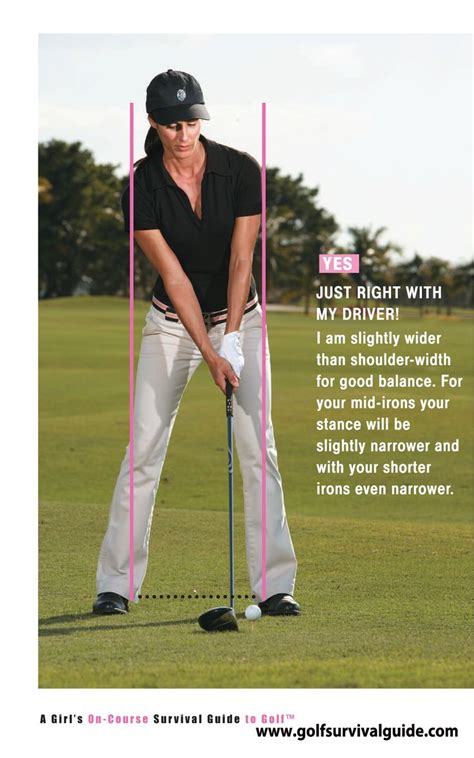 golf swing tips i see many players set up with narrow of a stance a